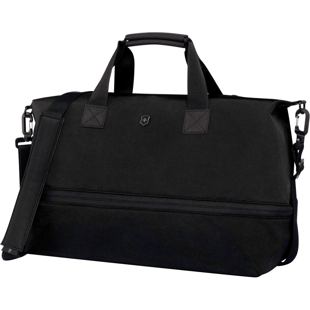 VICTORINOX瑞士維氏 WT 5.0拉鍊伸縮旅行袋-黑