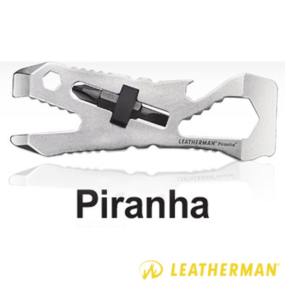 【美國 Leatherman】Piranha 二合一多功能不鏽鋼扳手