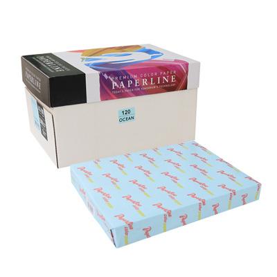PAPERLINE 彩色影印紙 120 / 80P / A3 淺藍(500張/包)