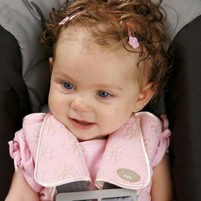 DF 童趣館 - 兒童座椅專用安全帶護肩套-隨機色