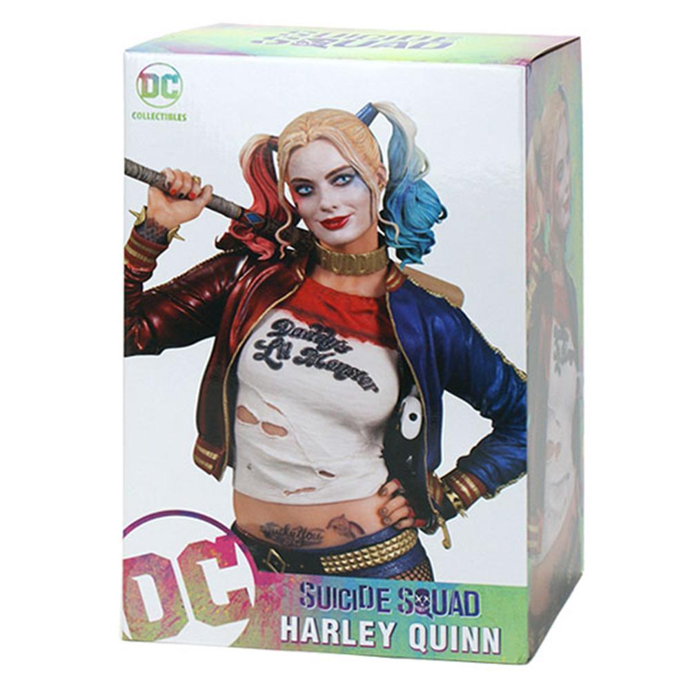 DC 美版 自殺突擊隊 12吋 完成品雕像 小丑女 哈莉 奎茵