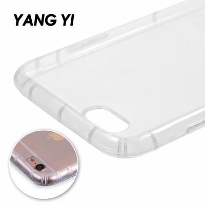 揚邑 Apple iPhone SE 氣囊式防撞耐磨不黏機清透空壓殼