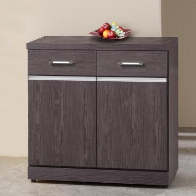 Homelike 萊恩2.7尺收納餐櫃-81x41x82cm