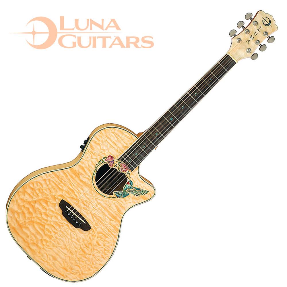 LUNA Fauna 系列 Hummingbird 蜂鳥電民謠木吉他