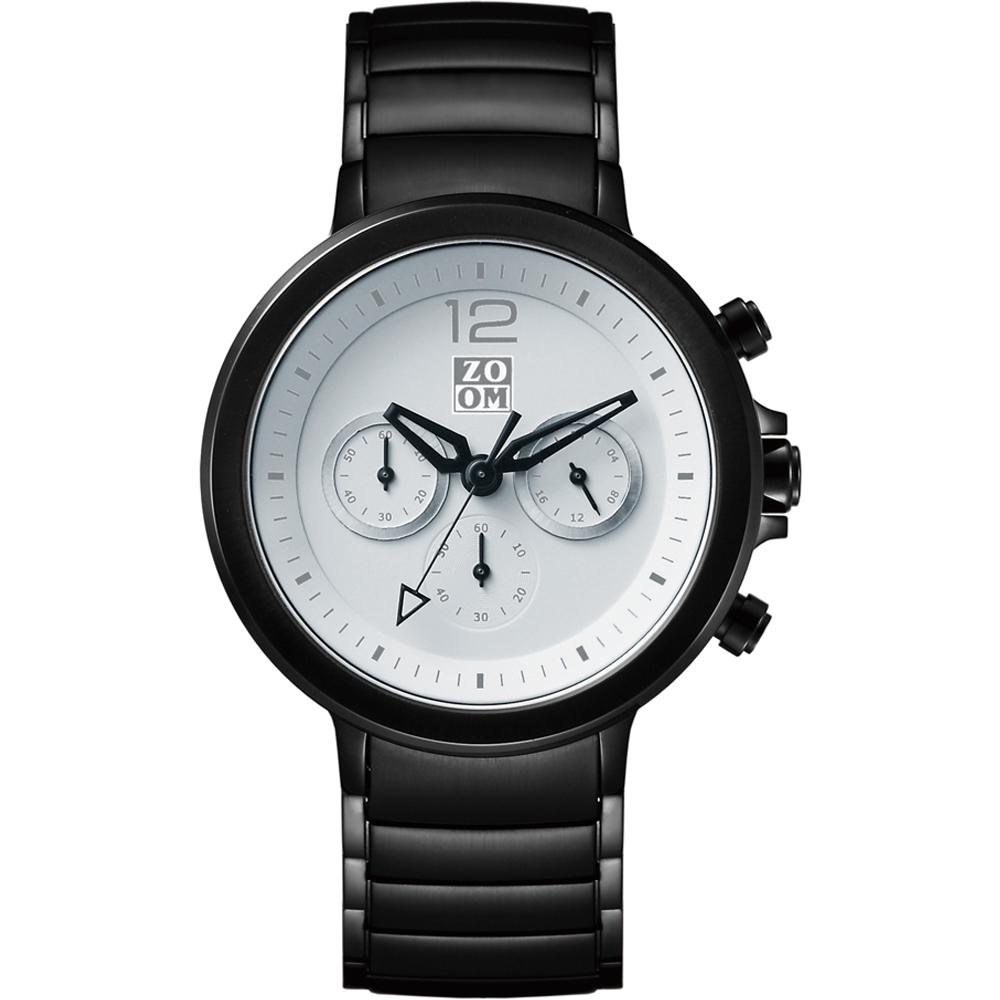 ZOOM Planet驚奇星球多功能腕錶-白42mm