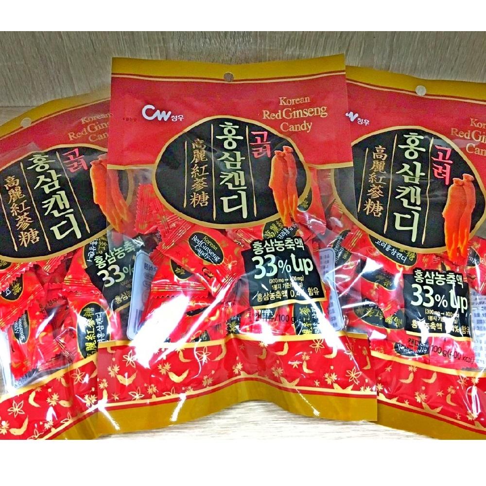 韓國 高麗紅蔘糖(100g)