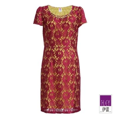 ILEY伊蕾-華麗時尚蕾絲洋裝