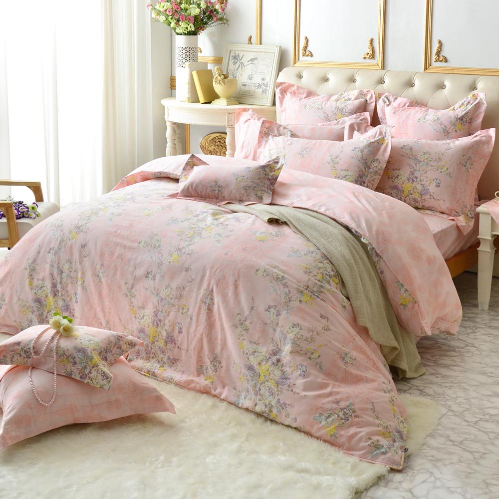 義大利La Belle 沁田漫語 雙人純棉床包枕套組