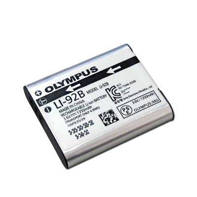 OLYMPUS Li-92B / Li92B 適用相機電池 (全新密封包裝)