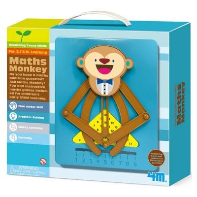 4M科學探索 - 猴子數學小老師