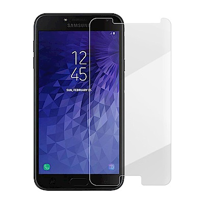 Metal-Slim Samsung Galaxy J4 9H鋼化玻璃保護貼