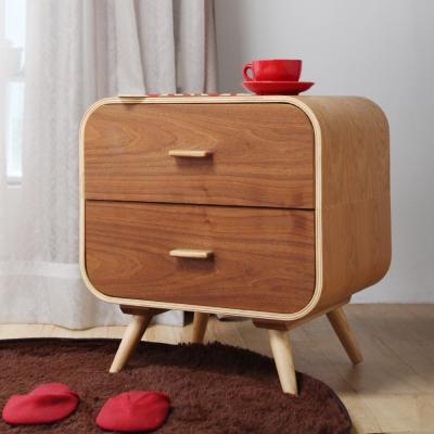 H&D NiiRO 尼爾極簡木作收納櫃/床頭櫃