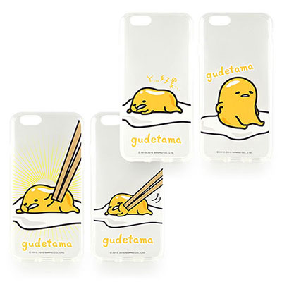 Sanrio iPhone 6 (4.7)蛋黃哥彩繪保護軟套-餐桌系列