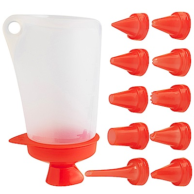 法國mastrad 大容量裝飾筆(紅)