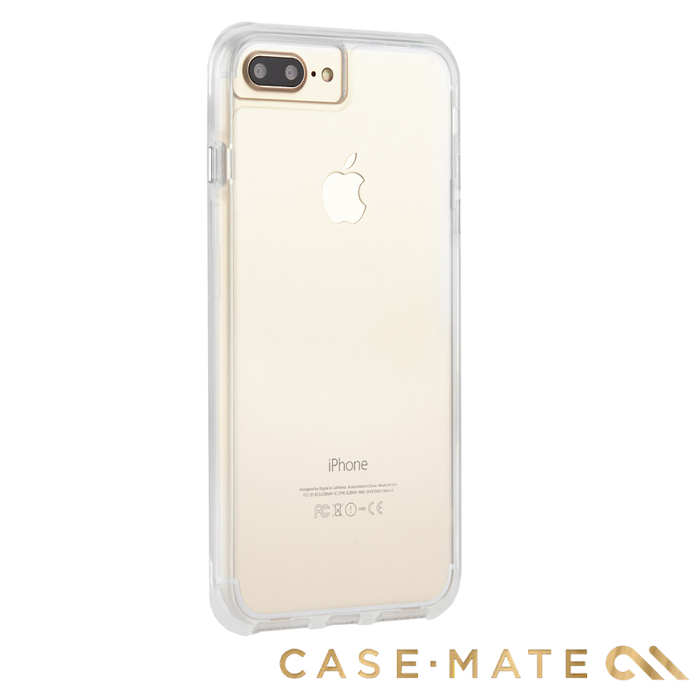 美國 Case-Mate iPhone 8+/7+Tough Clear - 透明