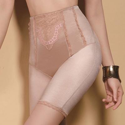 【思薇爾】綺麗系列中機能高腰長筒束褲(杏膚色)