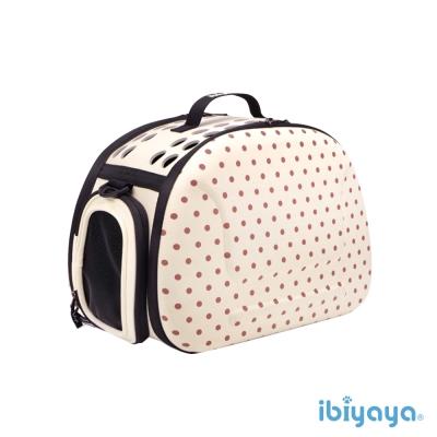 IBIYAYA依比呀呀-輕巧摺疊寵物提包-米點點(FC1007)