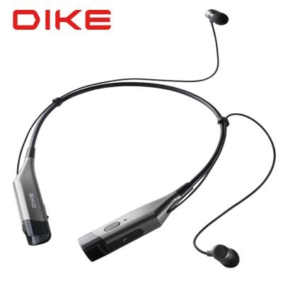 DIKE 頸掛式運動藍牙耳機麥克風/黑 DEB400