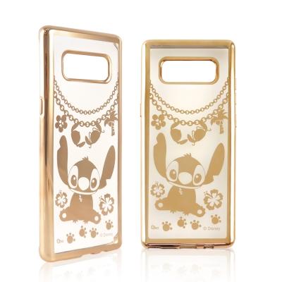 Disney迪士尼 三星Galaxy Note8時尚質感電鍍保護套-鎖鏈系列 史...