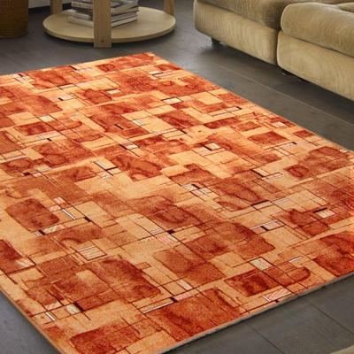 范登伯格 - 朝暘 進口地毯-星辰 (橘) (中款-150x200cm)