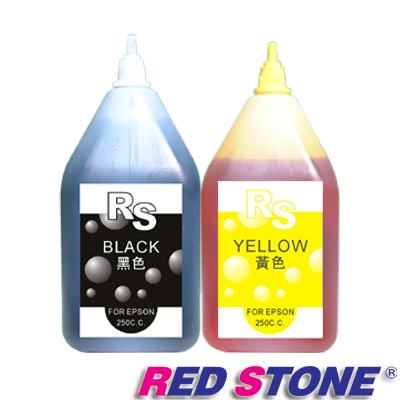 RED STONE for EPSON連續供墨填充墨水250CC(黑+黃)