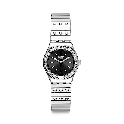 Swatch 金屬系列 TAN LI 時尚水晶手錶