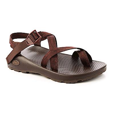 美國Chaco。男 越野運動涼鞋-夾腳款CH-ZCM02HE16(斜織咖啡)