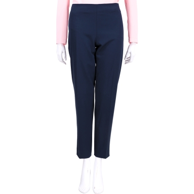 PHILOSOPHY 深藍色側拉鍊設計西裝褲