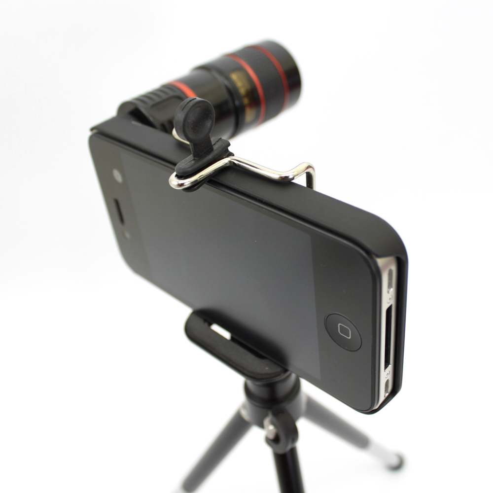 iStyle iPhone4/4S 8倍光學望遠攝影鏡頭組