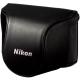 Nikon 原廠J1專用包覆相機套(黑色)
