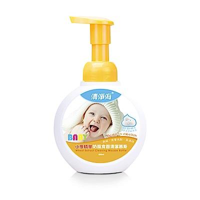 清淨海 小麥奶瓶食器清潔慕斯 300ml