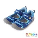 Dr. Apple 機能童鞋 噴水海豚快樂遊戲休閒涼童鞋款  藍