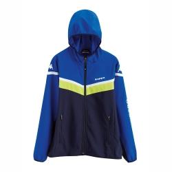 KAPPA義大利(童)吸濕排汗速乾 單層風衣-新丈青 寶藍 岩草綠