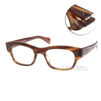 OLIVER PEOPLES眼鏡 好萊塢星鏡/棕#BRADFORD 1156