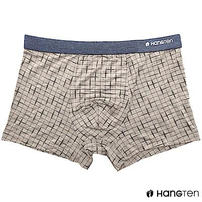 HANG TEN 舒適貼身平口褲_卡其(HT-C12005)