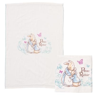 奇哥 比得兔紗布大浴巾