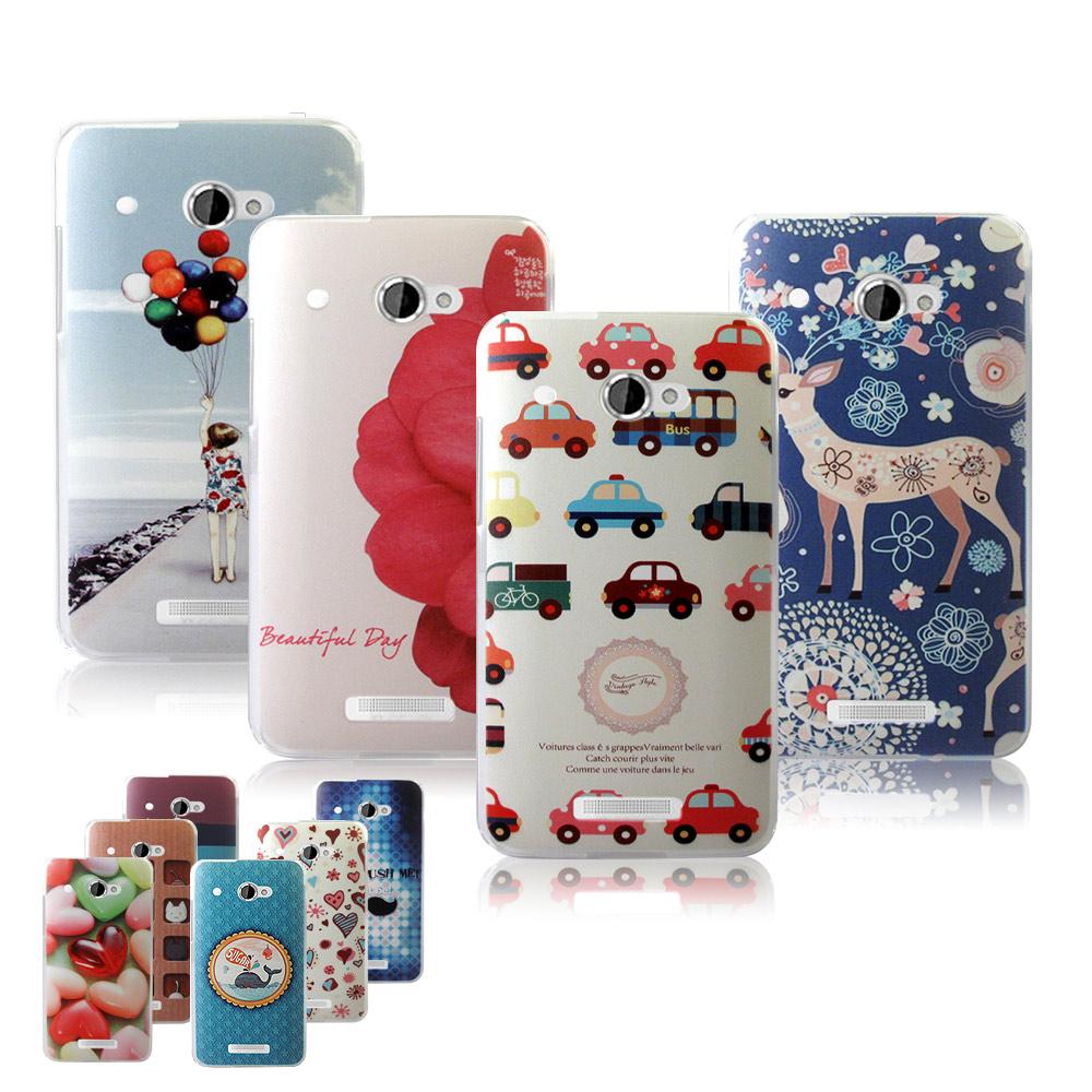 VXTRA HTC Butterfly X920D 蝴蝶機 藝術彩繪手機殼