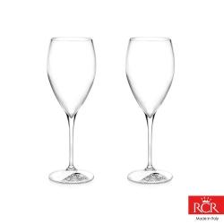 義大利RCR胡哥風情無鉛水晶紅酒杯(2入)400cc