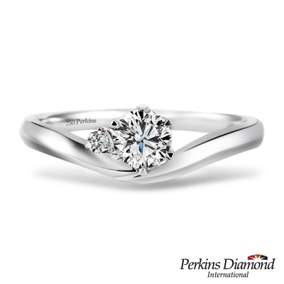 PERKINS 伯金仕 - 雅典娜系列 0.30克拉鑽石戒指