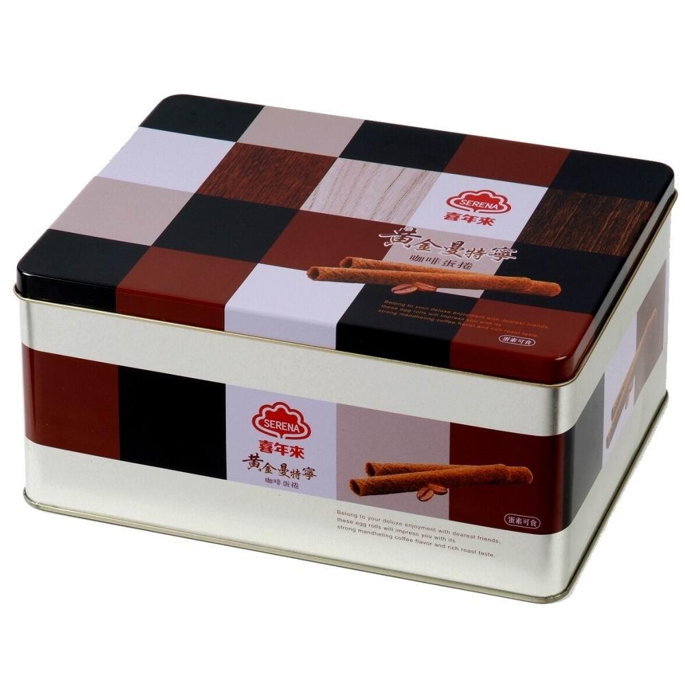喜年來 曼特寧咖啡蛋捲禮盒(32gx8包)