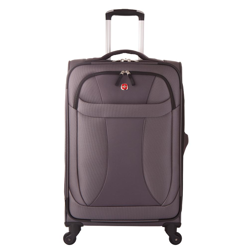 WENGER - 7208 新輕量系列24吋商務行李箱-灰WE720824GY