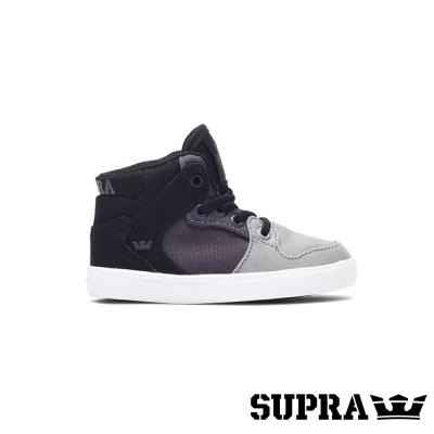 SUPRA Vaider系列童鞋-黑/灰/白