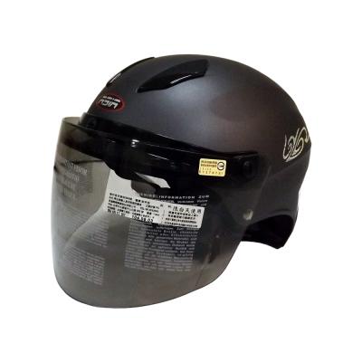 ASIA A-609 螺絲款式 摩登安全帽 平灰