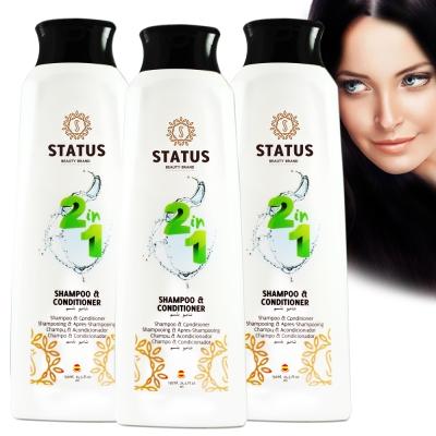 西班牙STATUS洗潤二合一柔順洗髮乳750ml三入