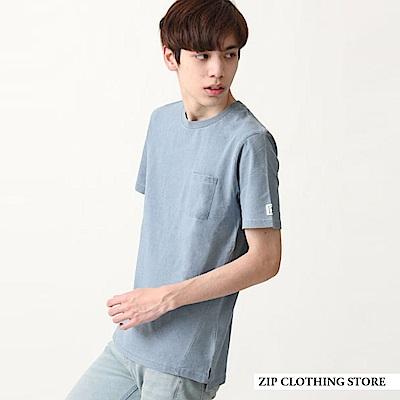 藍染短袖TEE(2色) ZIP日本男裝