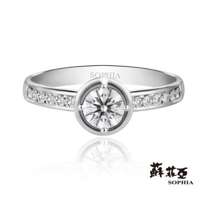 蘇菲亞SOPHIA 婚戒-Lydia 0.30克拉鑽石戒指