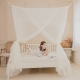 凱蕾絲帝-台灣製造150*200*200公分加高針織蚊帳開三門-米白 product thumbnail 1
