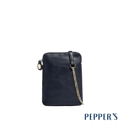 PEPPER`S Ellie 羊皮隨身小包 - 神秘藍