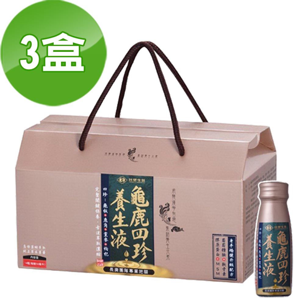 台塑生醫-龜鹿四珍養生液(50ml*14瓶/盒) 3盒/組
