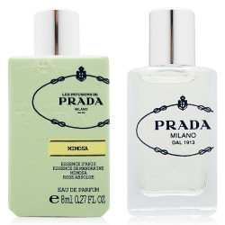 PRADA 含羞草精粹淡香精8ml+隨機針管香水一份
